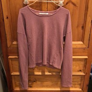 NEVER WORN Groceries Apparel pink sweatshirt